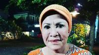 Mpok Atiek tak bisa hadir dalam pernikahan Kahiyang Ayu dan Bobby Nasution karena sedang syuting (Instagram/@mpok_atiek_real)