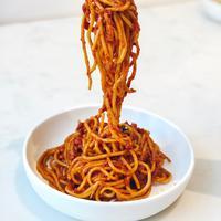 Ilustrasi spageti./Copyright unsplash.com/@kristastucchio