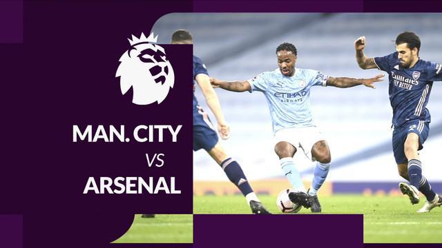 Berita motion grafis statistik Liga Inggris 2020/2021 pekan kelima, Manchester City mengalahkan Arsenal berkat Raheem Sterling, Sabtu (17/10/2020) malam hari WIB.
