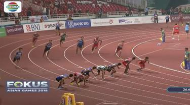 Zohri dan kawan-kawan akan melaju ke final cabang atletik nomor lari estafet 4x100 meter putra.