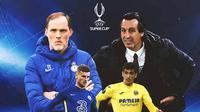 UEFA Super Cup - Chelsea Vs Villarreal - Duel Pelatih dan Pemain (Bola.com/Adreanus Titus)