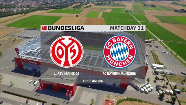 Berita Video Highlights Bundesliga Pekan 30, Bayern Munchen Tumbang dari Mainz 05
