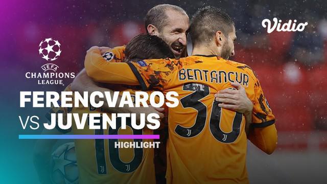 Berita video, Juventus menang dalam penyisihan Grup G Liga Champions 2020/2021 melawan Ferencvaros