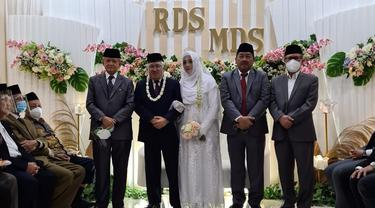 Pernikahan Din Syamsuddin.
