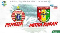 Liga 1 2018 Persija Jakarta Vs Mitra Kukar (Bola.com/Adreanus Titus)