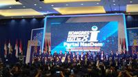 Surya Paloh Kembali Jadi Ketua Umum Nasdem (Liputan6/Yopi Makdori)