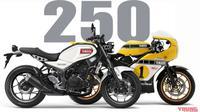 Yamaha XSR250 yang bergaya retro klasik diperkirakan akan keluar tahun ini. (Young Machine)