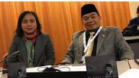 Ketua Fraksi PKS DPR RI Jazuli Juwaini saat menghadiri  Sidang Umum Inter-Parliamentary Union (IPU) 139 yang berlangsung 14-18 Oktober 2018 di Jenewa, Swiss. (Istimewa)