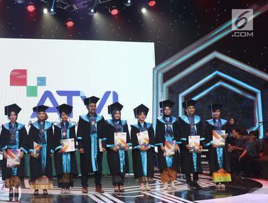 Wisuda ke-X Akademi Televisi Indonesia Luluskan 110 Mahasiswa
