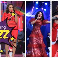 Tepat pukul 19.00 WIB malam puncak HUT SCTV ke-28 resmi bergulir dengan penampilan apik penyanyi kelas Internasional, Agnez Mo.