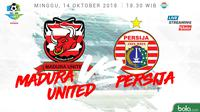 Liga 1 2018 Madura United Vs Persija Jakarta (Bola.com/Adreanus Titus)