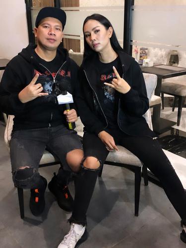Kalina Ocktaranny dan Vicky Prasetyo