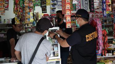 Bea Cukai Gelar Operasi Pasar Berantas Rokok Ilegal Demi Terjaminnya Keadilan Berusaha