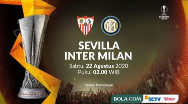 Liga Europa - Sevilla Vs Inter Milan (Bola.com/Adreanus Titus)