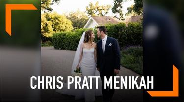 Chris Pratt mengunggah foto pernikahannya dengan Katherine Schwarzenegger di Instagram. Pratt mulai dekat dengan Katherine sejak bercerai tahun 2018.