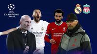 Liga Champions: Real Madrid vs Liverpool. (Bola.com/Dody Iryawan)