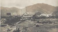 Kondisi pasca-topan dahsyat di Hong Kong pada 1906 (Wikimedia Commons)