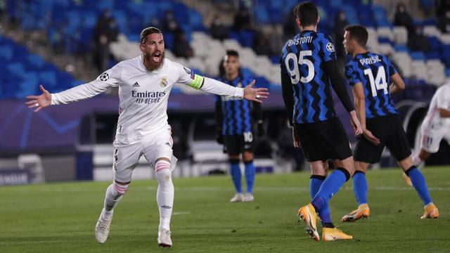 FOTO: Real Madrid Taklukkan Inter Milan di Liga Champions