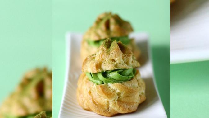 Resep Kue Sus Green Tea Super Enak - Lifestyle Fimela.com