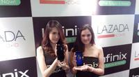 Smartphone Infinix Hot Note X551 (Liputan6.com/Jeko Iqbal Reza)