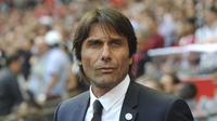 Inter Milan resmi menunjuk Antonio Conte sebagai pelatih. Ia menggantikan Luciano Spalletti yang dipecat. (AP Photo/Rui Vieira, file)