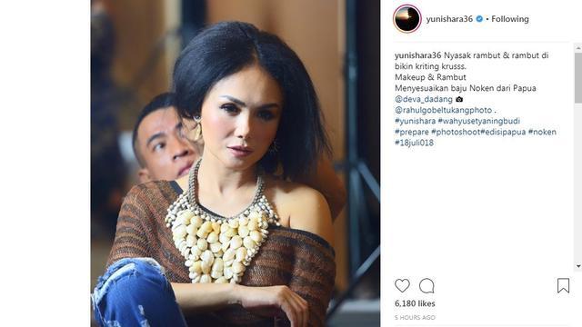 Yuni Shara (Foto: Instagram)