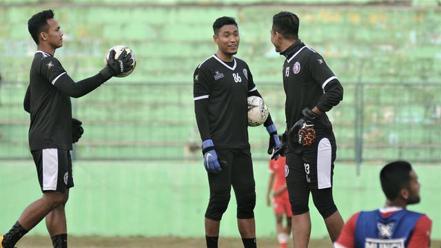Andreas Fransisco, Sandi Firmansyah, dan Utam Rusdiana, Arema FC