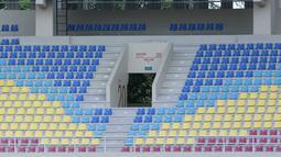 Stadion megah kebanggaan warga Solo ini berkapasitas 20.000 penonton menggunakan kursi tunggal. (Bola.com/M Iqbal Ichsan)