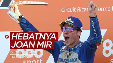 Berita video TikTok Bola.com kali ini membahas kehebatan Joan Mir di MotoGP musim 2020.