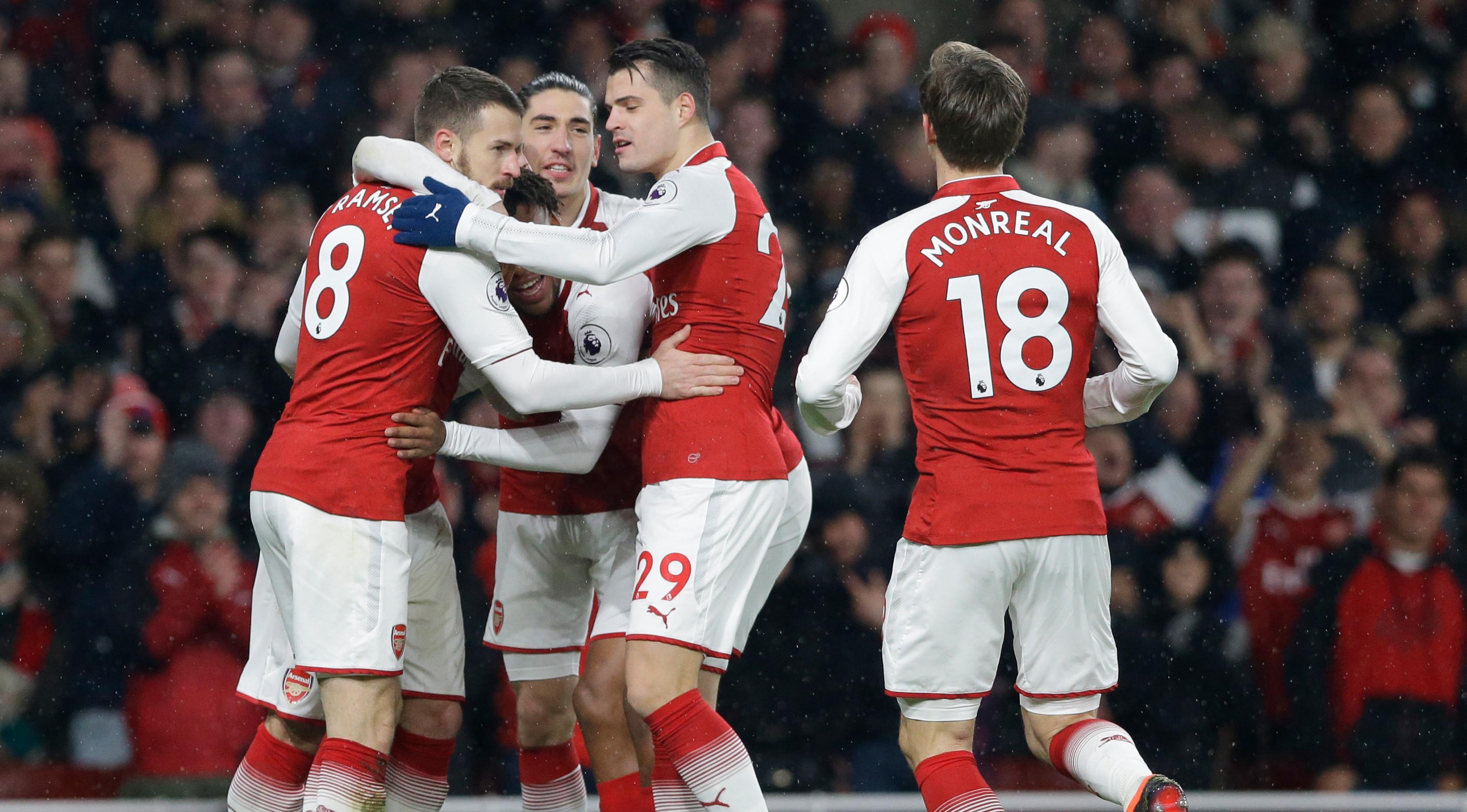 Arsenal akan menghadapi Tottenham Hotspur dalam Derby London Utara(AP Photo / Alastair Grant)