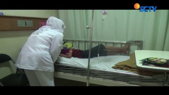 Namun dari cerita sang nenek Kosiyah, korban terjatuh sehingga wajahnya tercebur ke wajan.