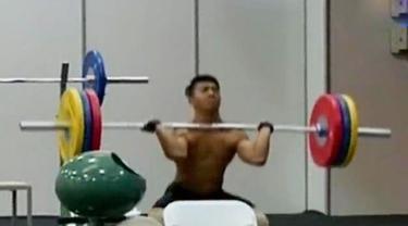 Segmen 3: Atlet Angkat Besi Berlatih Keras hingga Venue Olimpiade