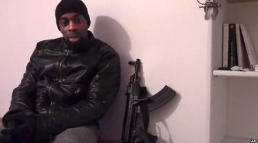 Amedy Coulibaly, penyerang supermarket halal di Prancis, Paris. (BBC)