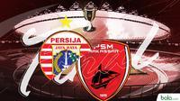 Final Piala Indonesia: PSM Makassar vs Persija Jakarta. (Bola.com/Dody Iryawan)