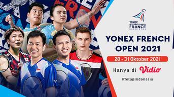 Saksikan di Vidio! Live Streaming Yonex French Open 2021: Ada Marcus/Kevin Mulai Pukul 18.00 WIB