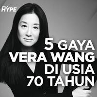 5 Gaya Vera Wang di Usia 70 Tahun