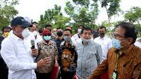 Upaya tersebut disampaikan Edy kepada Menteri Agraria dan Tata Ruang (ATR)/Kepala Badan Pertanahan Nasional (BPN) Sofyan Djalil.
