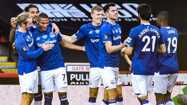 Everton Curi Poin di Kandang Sheffield United