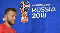 Gelandang tim nasional Polandia, Jakub Blaszczykowski. (AFP/Alexander Nemenov)