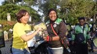 Ratusan Ojol Dukung Film Wiro Sableng
