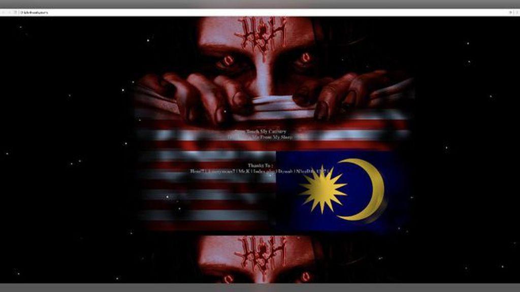 Gara-gara pasang bendera Indonesia terbalik, peretas Tanah Air akhirnya mencoba untuk bobol server Malaysia. (Foto: ipls.dvssel.gov.my)