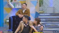 Billy Syahputra saat menjadi bintang tamu di acara yang dipandu Raffi Ahmad dan Nagita Slavina (YouTube)