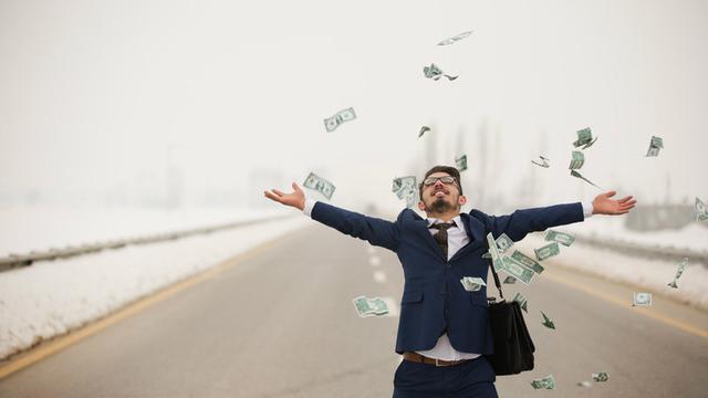 Ilustrasi orang kaya