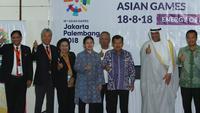 Pembangunan infrastruktur dan venue Asian Games yang dikerjakan Kementerian PUPR mendapat apresiasi Presiden Olympic Council of Asia (OCA).
