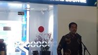 Airport Digital Lounge terletak di samping pintu masuk Terminal 1B Bandara Soekarno Hatta. Liputan6.com/Pramita