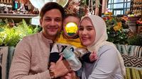Potret terbaru istri Lucky Perdana, Lidi Burgman kini berhijab. 9Sumber: Instagram/@_luckyperdana)