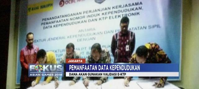 Ribuan lembaga di Indonesia tanda tangani perjanjian kerjasama dengan Ditjen Dukcapil Kemendagri untuk pemanfaatan data e-KTP sebagai validaasi program aplikasi.