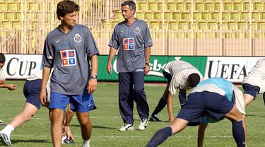 Gaya Jose Mourinho Saat Jadi Manajer Porto sampai Dipecat MU