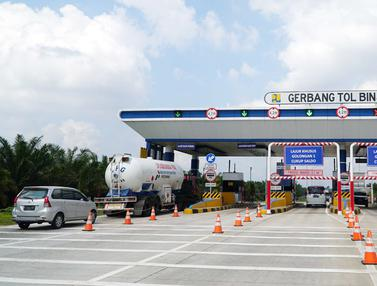 Pembangunan Jalan Tol Medan - Binjai Seksi I