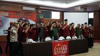 Pemuda Bulan Bintang Jawa Barat dorong Yusril Ihza Mahendra dukung Jokowi-Ma'ruf. (Huyogo Simbolon)